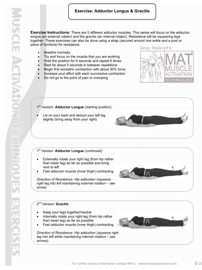 Improve internal hip rotation for golf