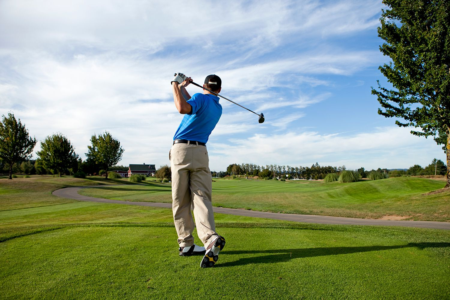 Golfers improve your torso rotation
