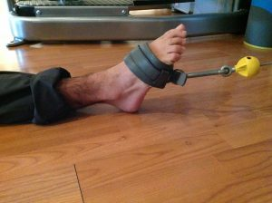 dorsiflexion exercise with cable machine