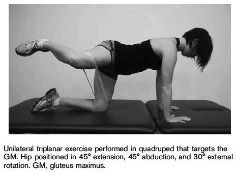 Exercise to activate Glute Max