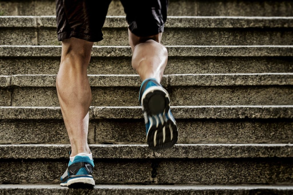 train your calf muscles to slow down the ageing process