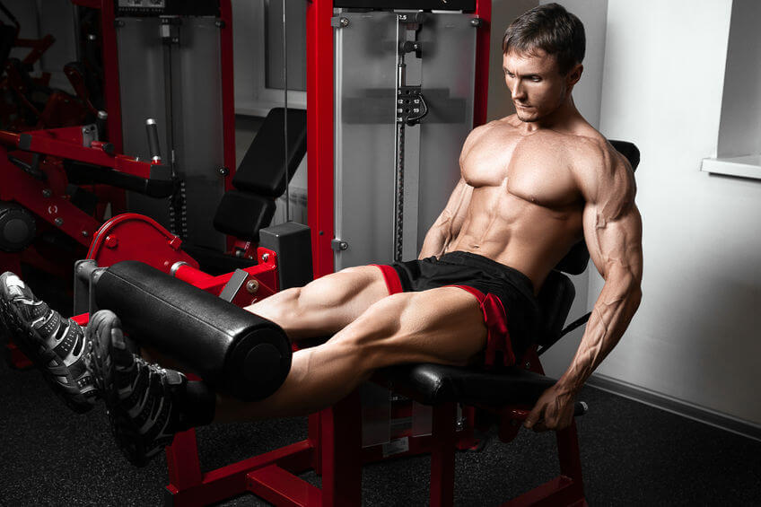 Is the leg extension machine bad for your knees?
