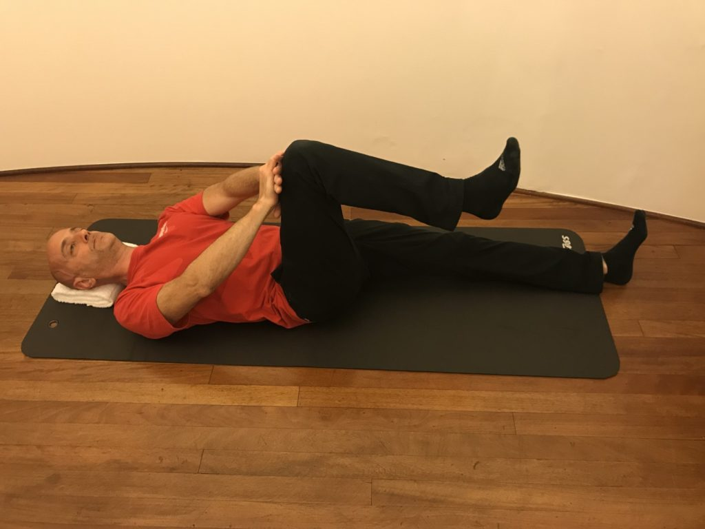Hip flexion isometric for cycling
