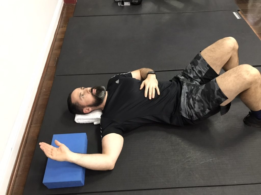 External shoulder rotation isometric