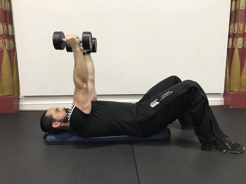 Shoulder protraction exercise