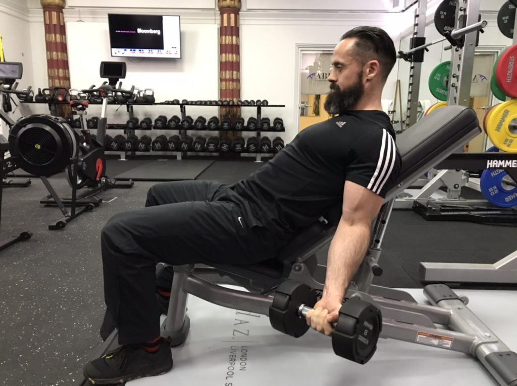 Long head of biceps exercise