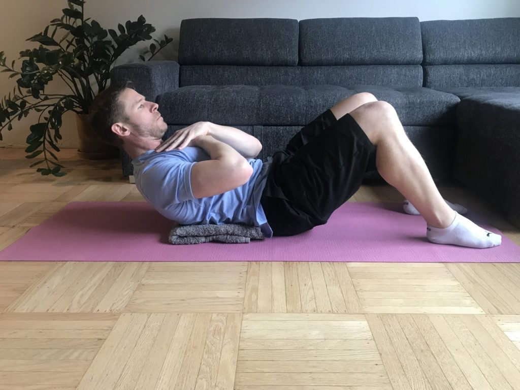 Trunk flexion best core exercise for home workouts