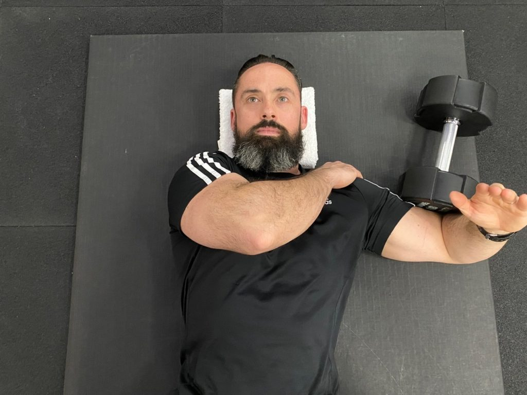 Lateral deltoid isometric