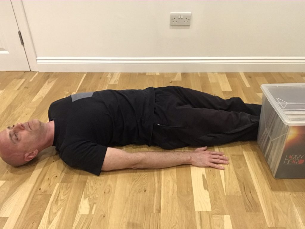 Side bend isometric for back pain