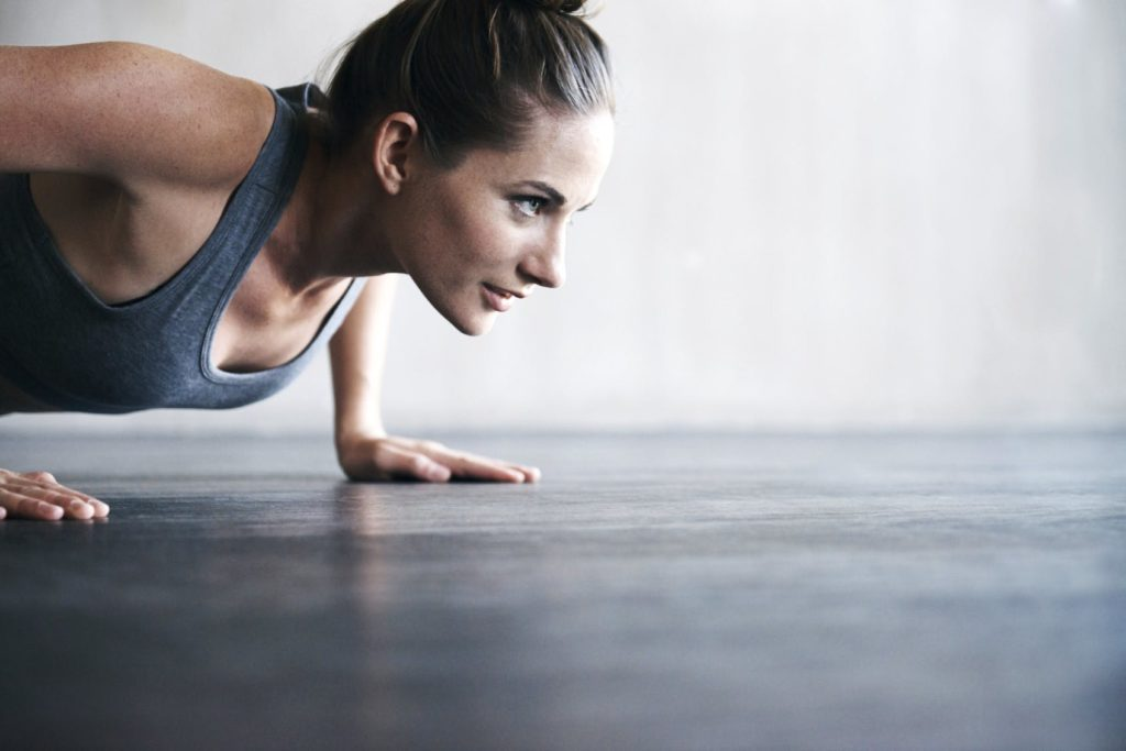 How to set up and perform the perfect push up