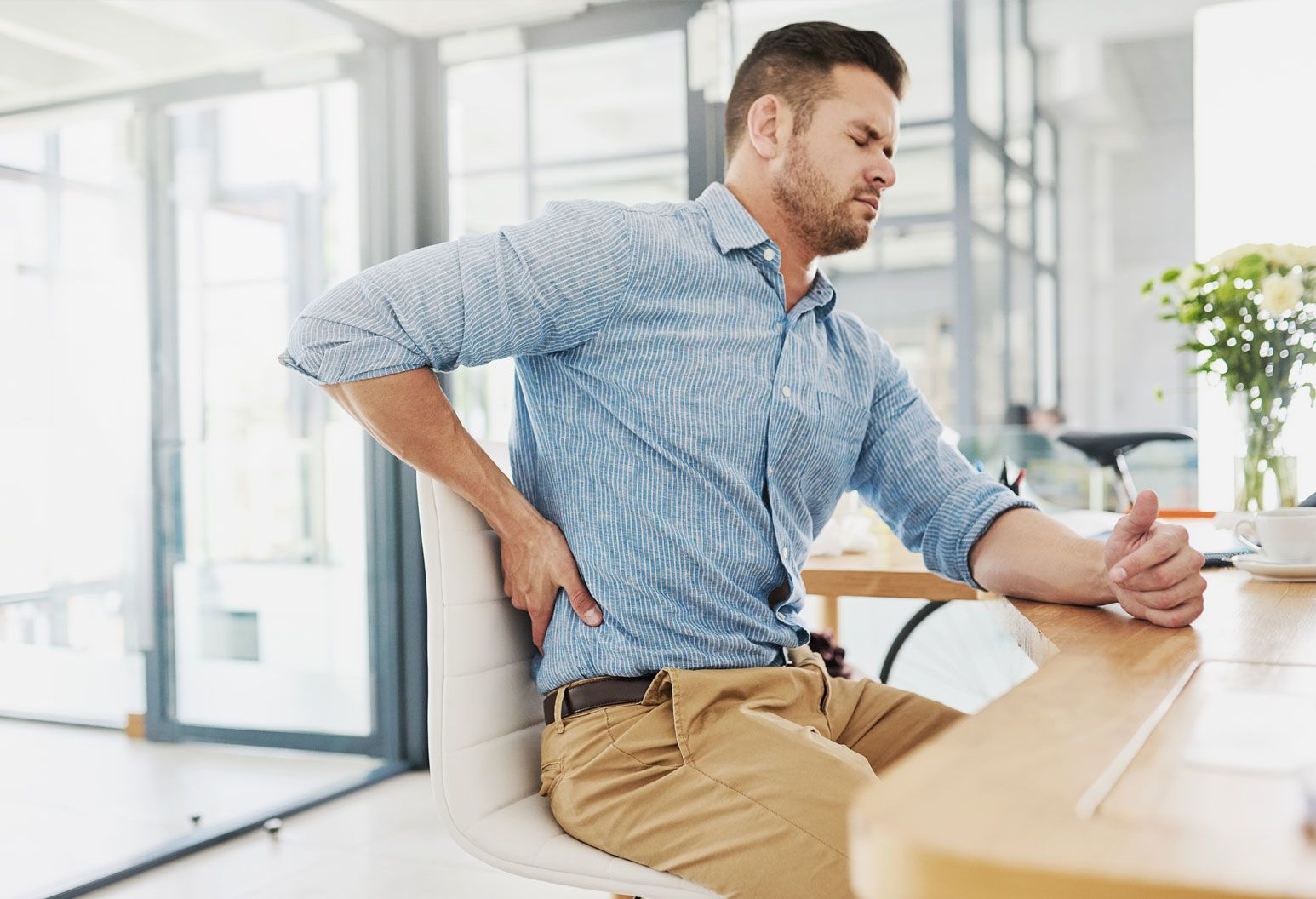 How to reduce back pain and tightness with 3 simple exercises.