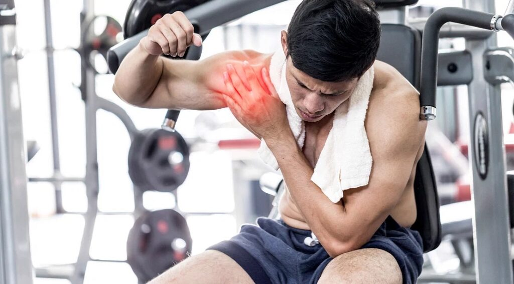 how to shoulder press without pain