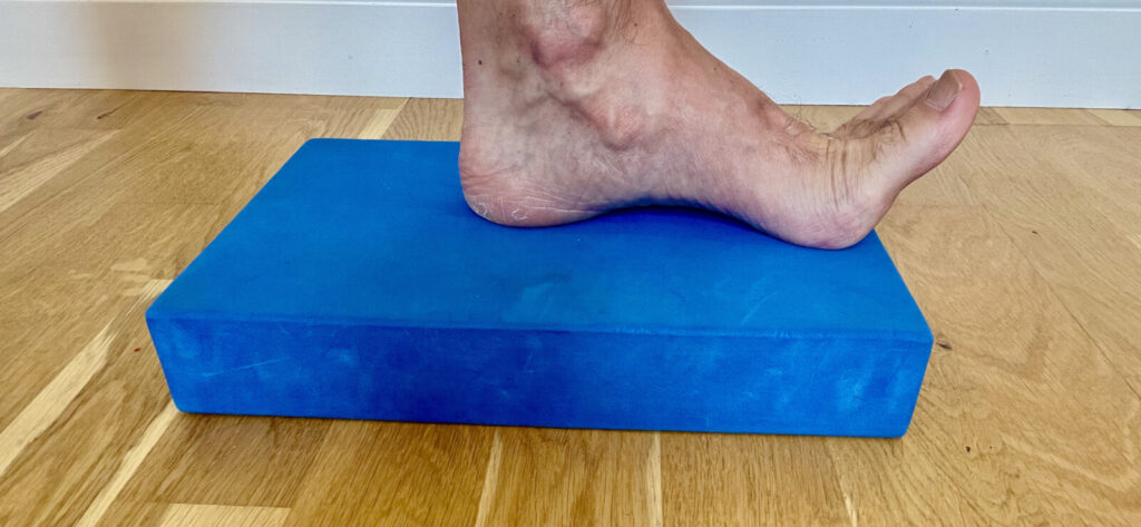 toe extension exercise
